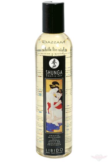 Shunga LIBIDO egzotikus gyümölcs illatú természetes masszázsolaj