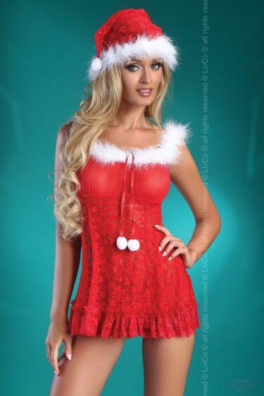 livco corsetti christmas bell karácsonyi fehérnemű szett