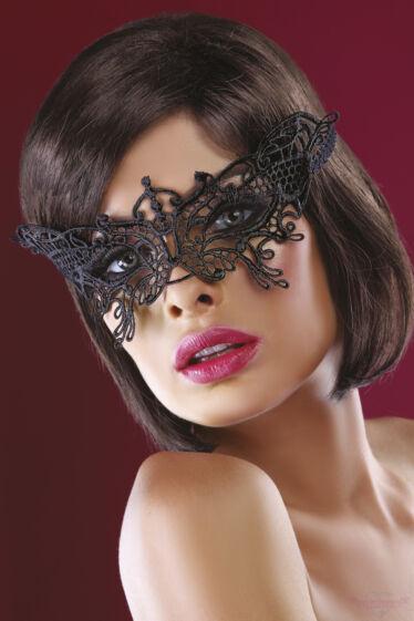 Livco Corsetti Model 14 Fekete csipke arcmaszk