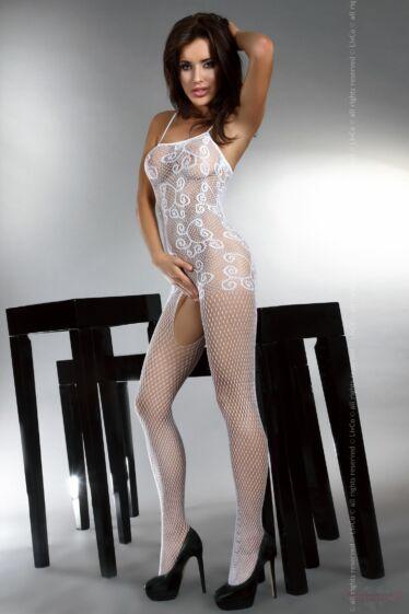 Livco Corsetti Orrienne fehér csipke cicaruha testharisnya