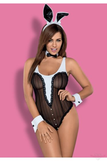 OBSESSIVE Bunny 4 részes sexy nyuszi jelmez S/M