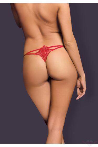 OBSESSIVE  Luiza erotikus piros tanga bugyi S/M
