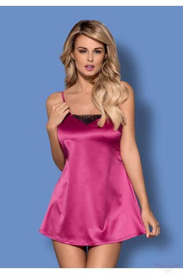 Obsessive satinia pink babydol szett