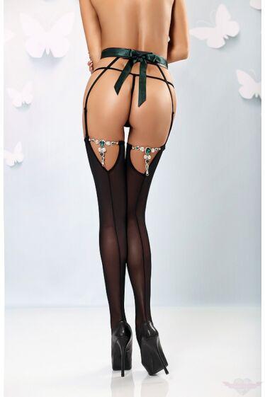 Lolitta Dolce 3 részes szexi harisnyatartós szett S/M