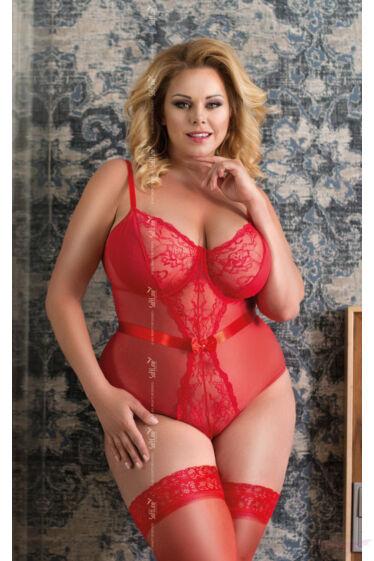 Softline Amelia queen size xxl csipke body