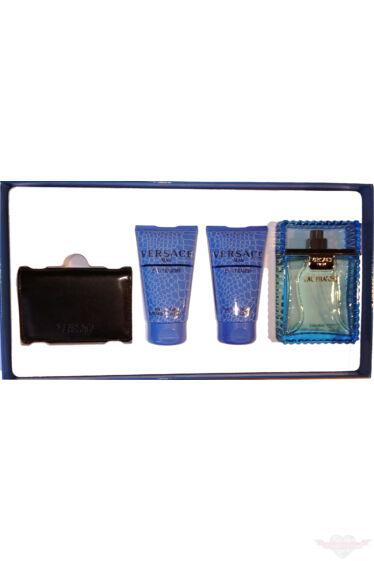 Versace  Eau Fraiche Set  (EdT) 100 ml  Bath gel 50 ml  After Shave Balm 50 ml